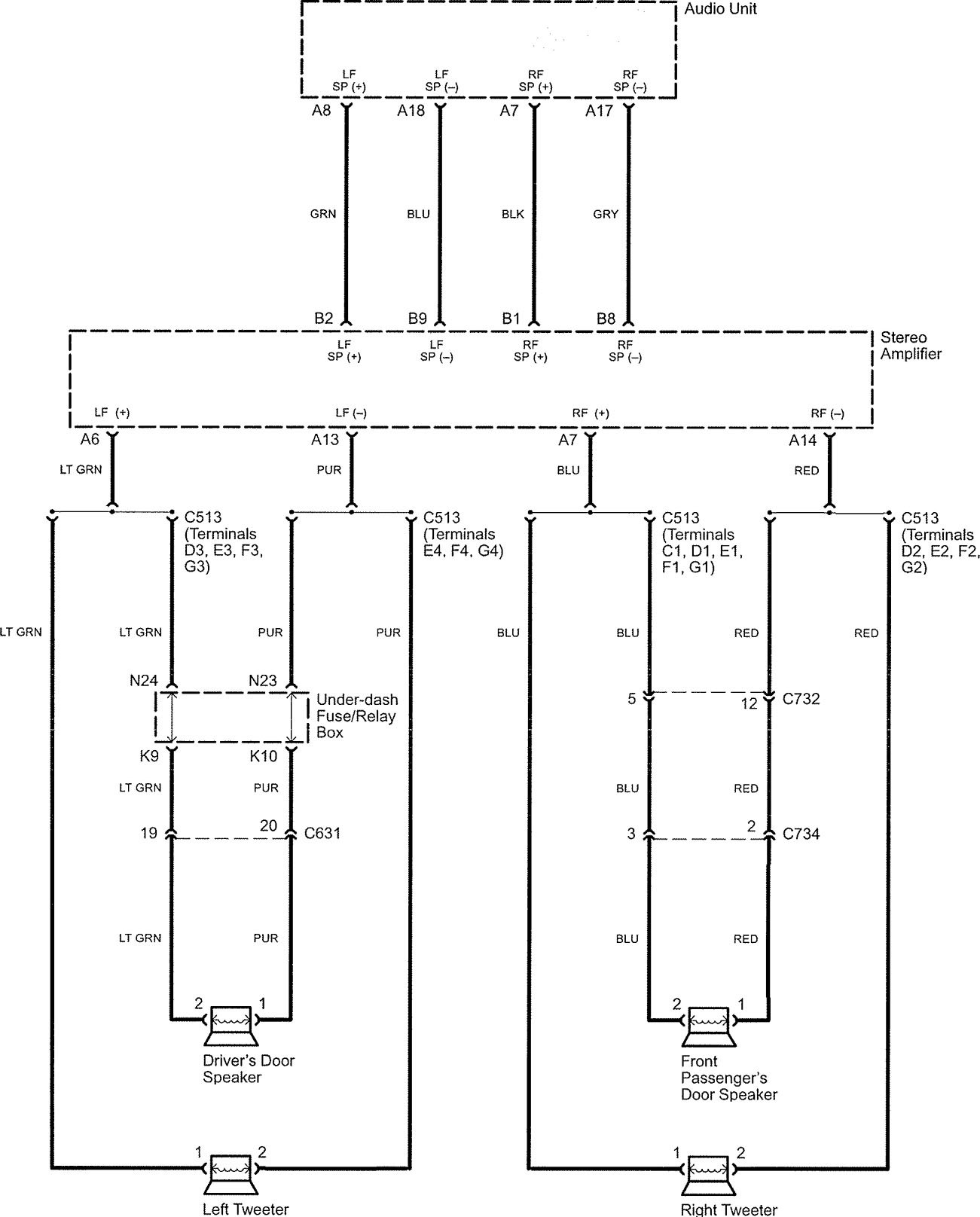 acura tl wiring diagram hands free link system 1 3 2005 acura tl (2006) wiring diagrams hands free link system 2010 Chevy Aveo Oil Cooler to Transmission Diagram at bakdesigns.co