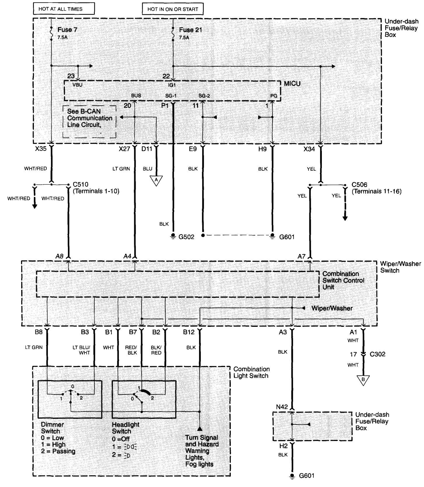 acura tl  2003 - 2006  - wiring diagrams