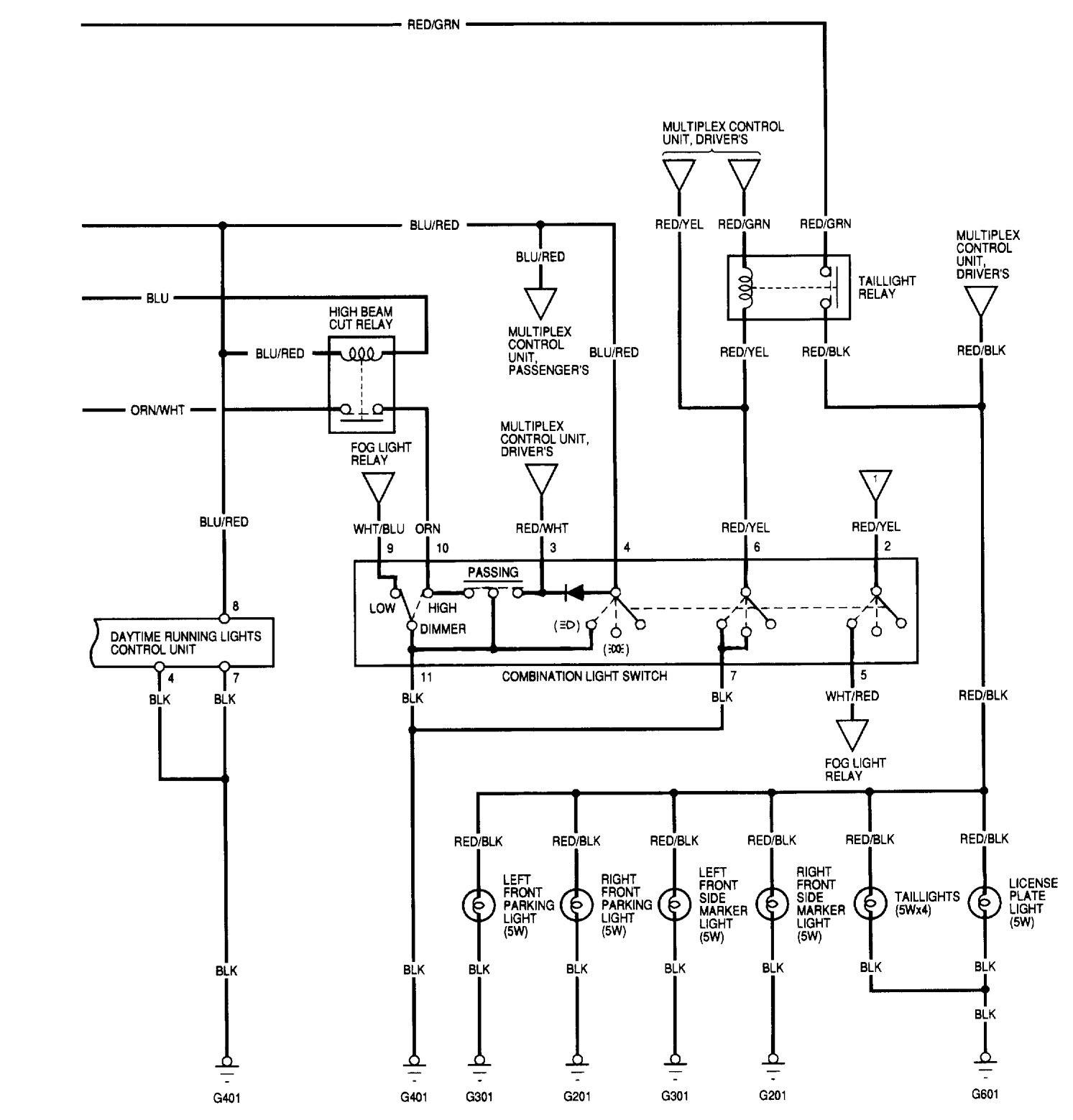 1989 acura integra wiring diagram