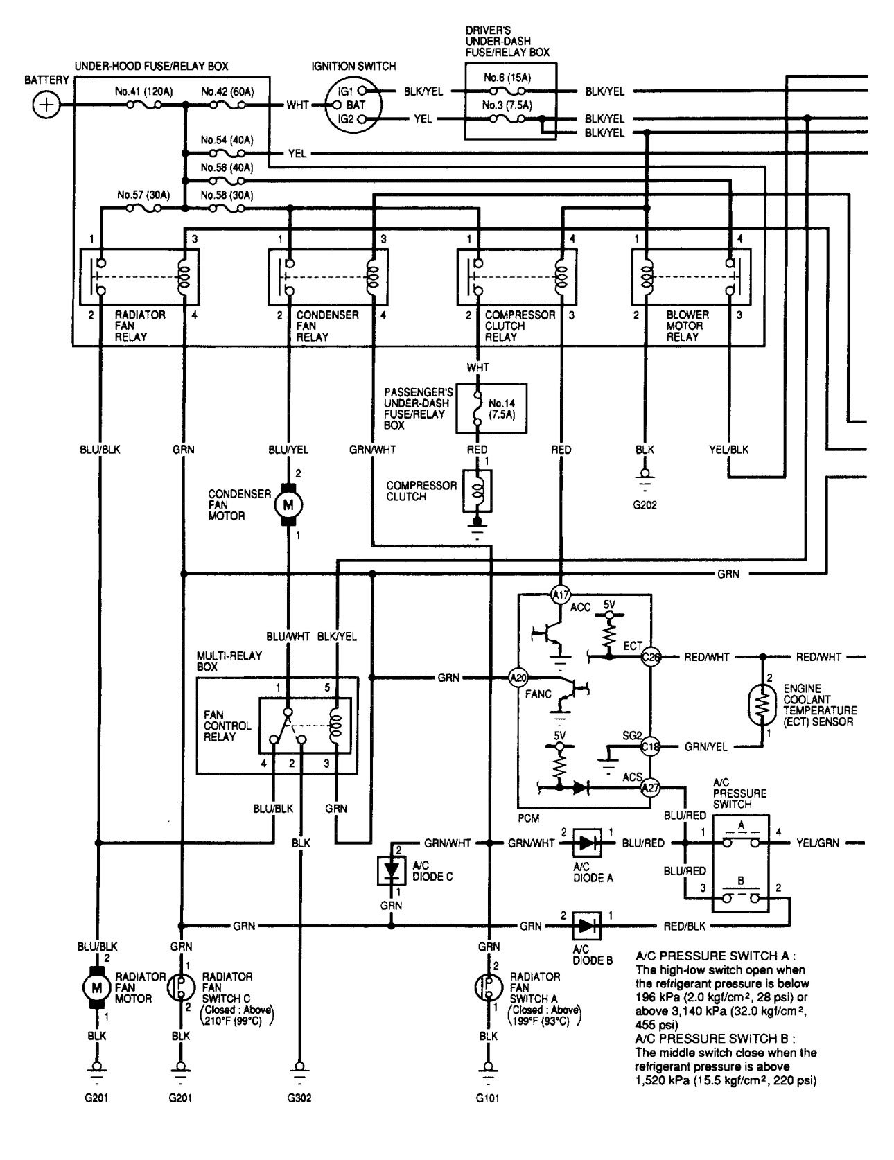 acura tl  2002  - wiring diagrams