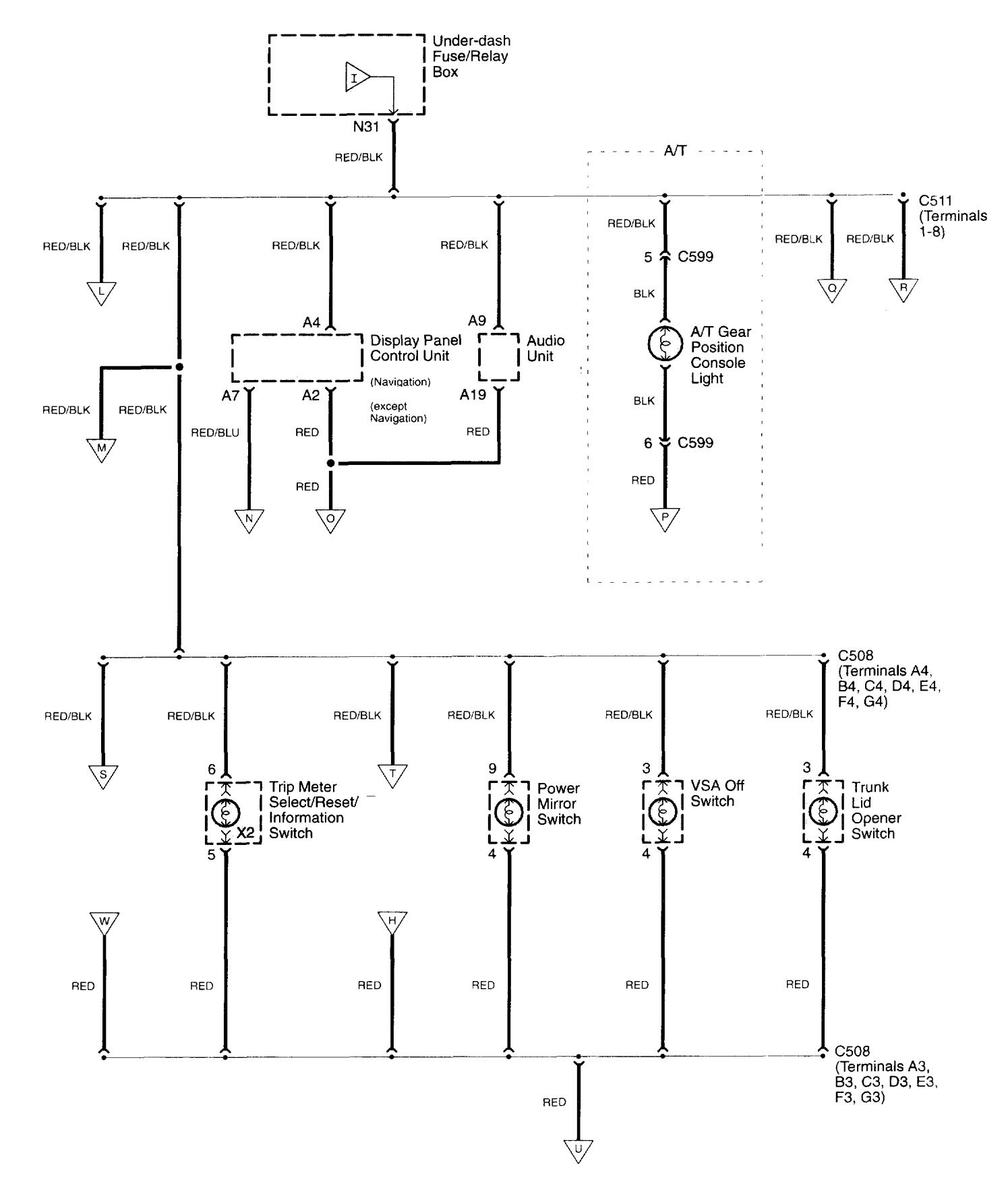 WRG-9423] Acura Tl Navigation Wiring Diagram on