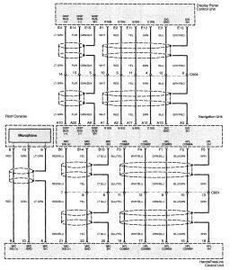 Acura TL (2006) - wiring diagram - navigation system ...