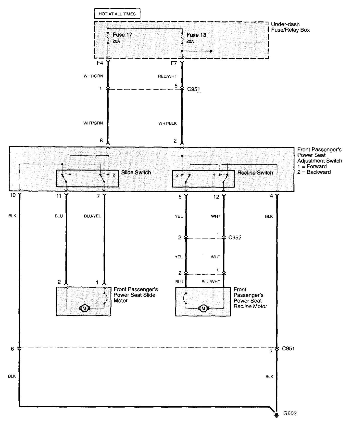 Acura Tl  2003 - 2005  - Wiring Diagrams