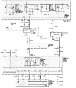 Acura TL (2003 - 2005) - wiring diagrams - power windows - Carknowledge.info | Acura Tl Window Wiring Diagram |  | Carknowledge.info