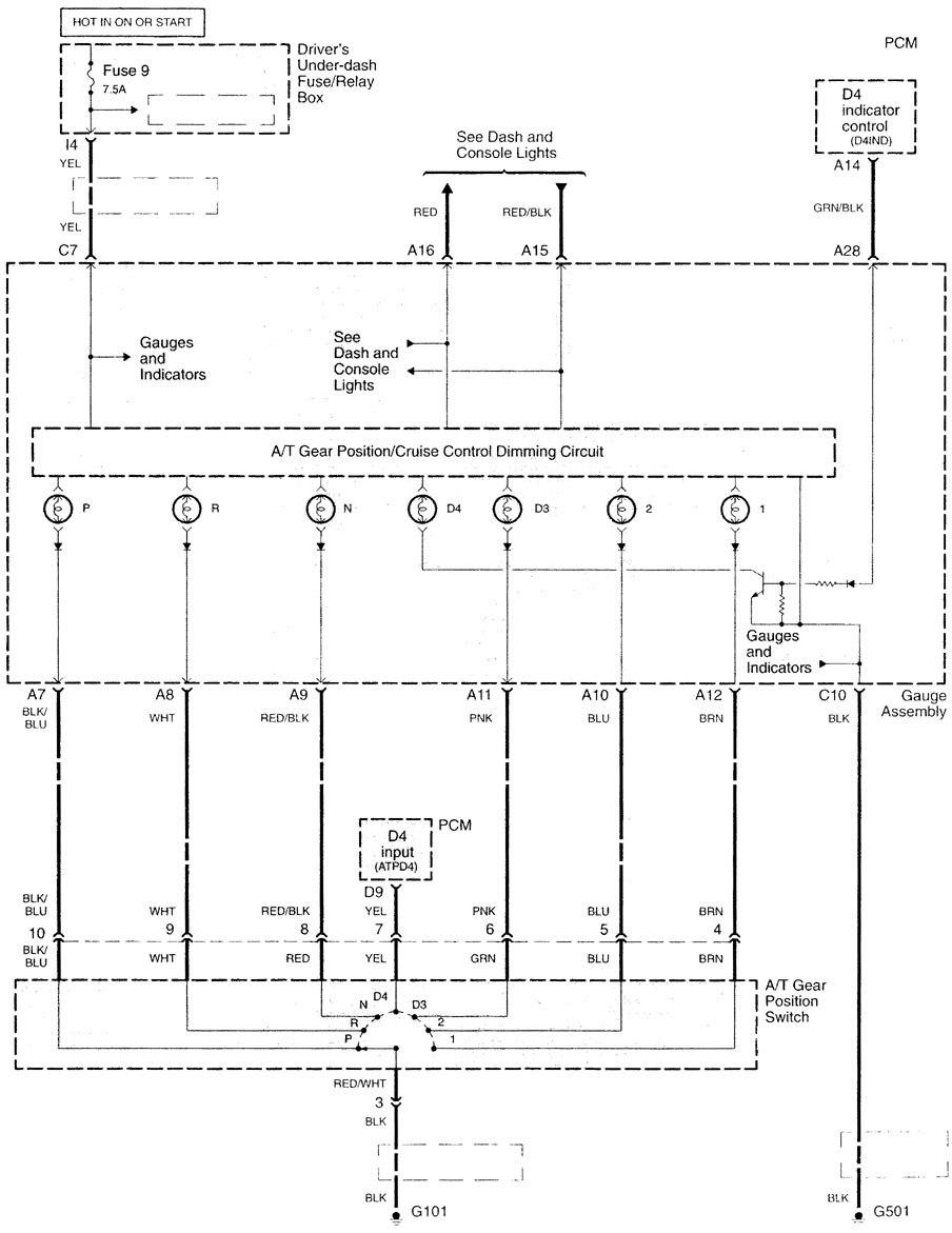 acura tl  2000  wiring diagrams shift interlock 04 Acura TL Interior Fuse Box Manual 1997 Acura TL 3 2 Engine Diagram
