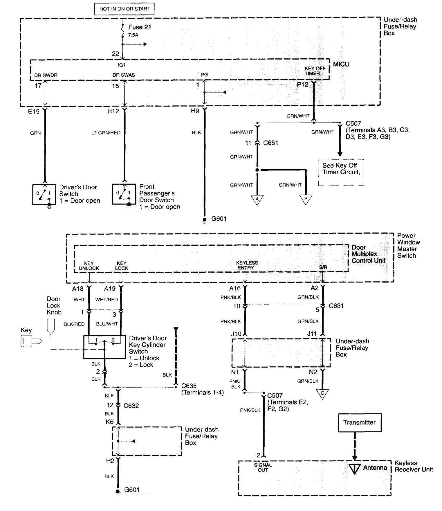 2003 Acura Tl Wiring Diagram - Cars Wiring Diagram