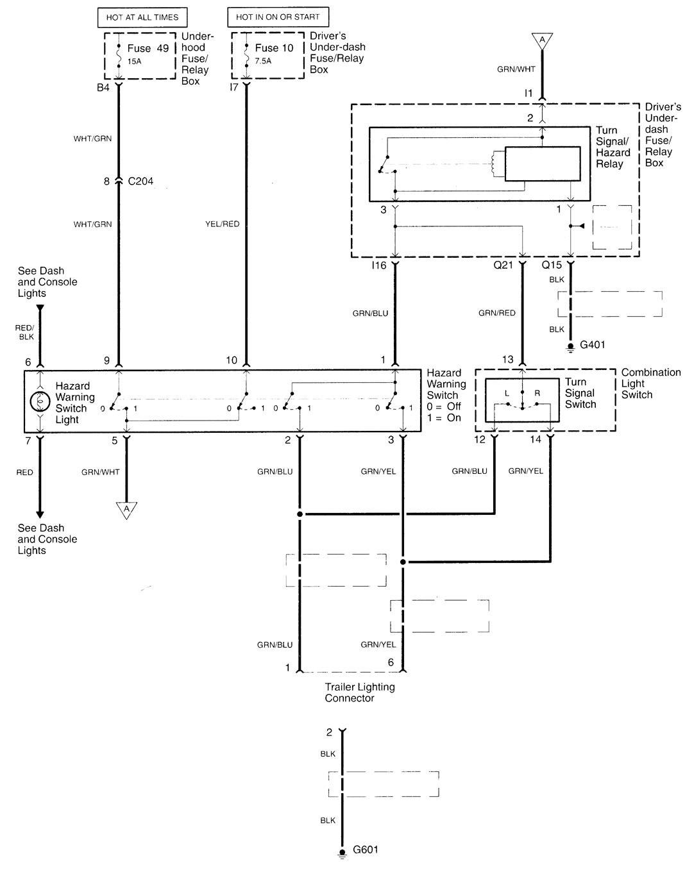 acura tl wiring diagram wiper washer 1 2001 acura tl (2001) wiring diagrams wiper washer carknowledge