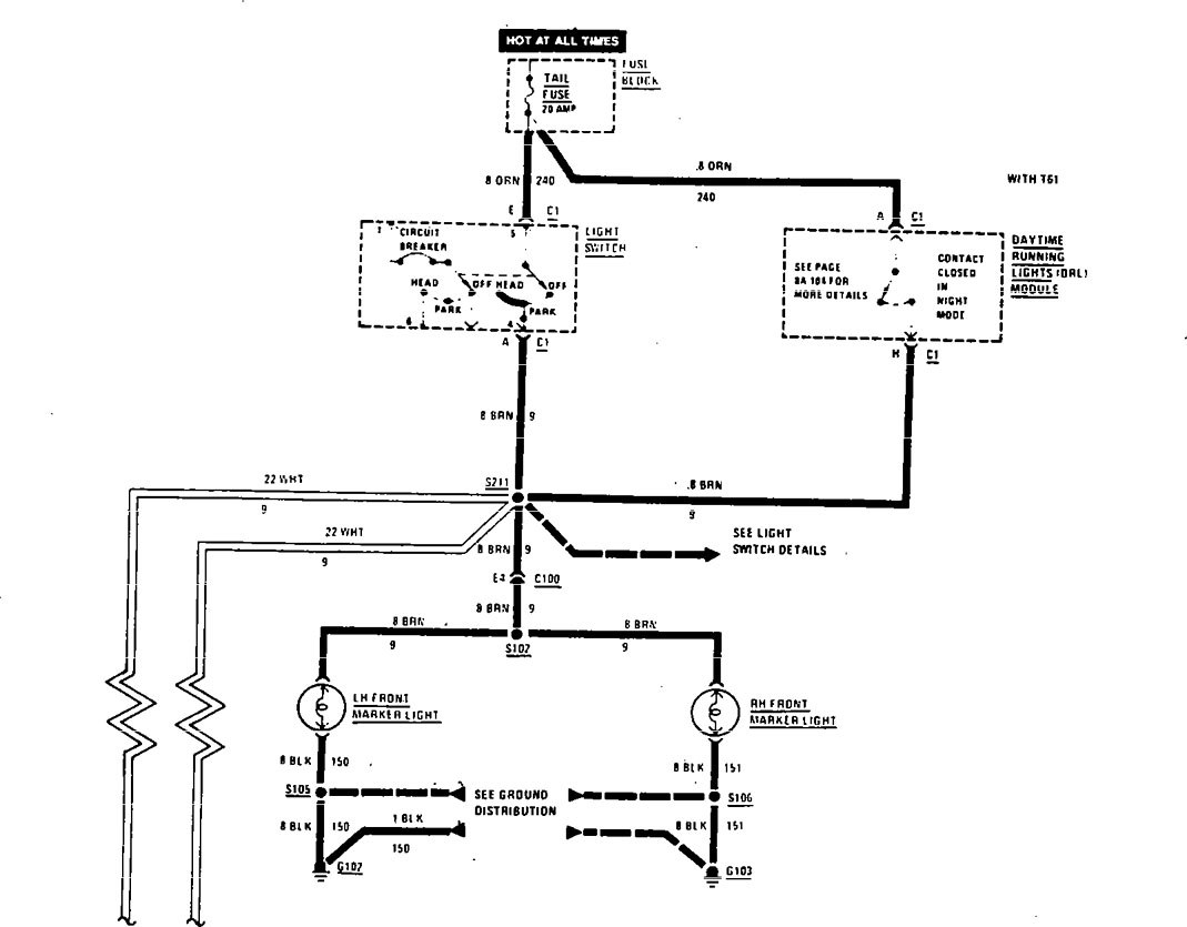 buick century  1990  - wiring diagrams