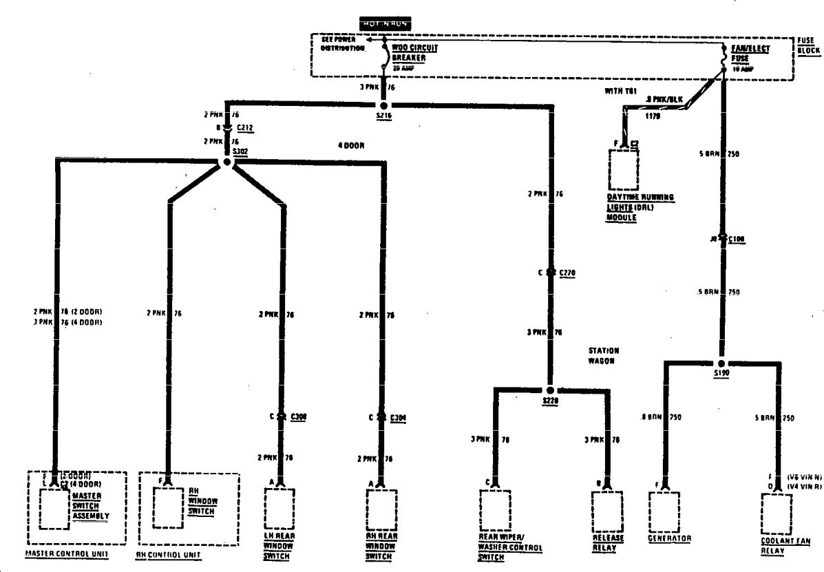 Buick Century 1990 Wiring Diagrams Fuse Panel Carknowledge Electrical Diagram Part 4