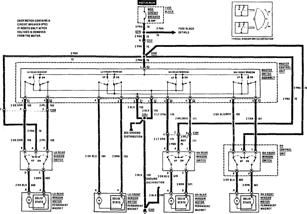 Buick Century  1991  - Wiring Diagrams