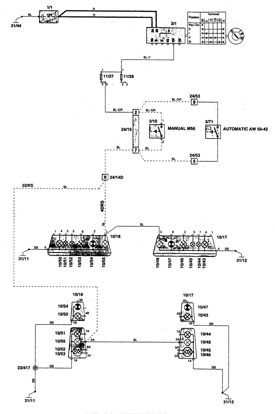 Volvo 850 1996 Wiring Diagrams Hvac Controls Carknowledge Diagram