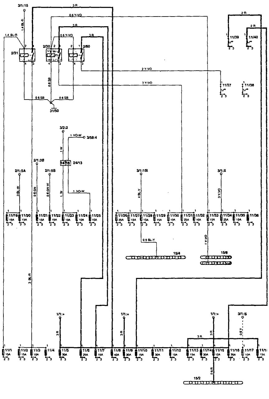 Volvo 850 1995 Wiring Diagrams Fuse Panel Carknowledge Box On