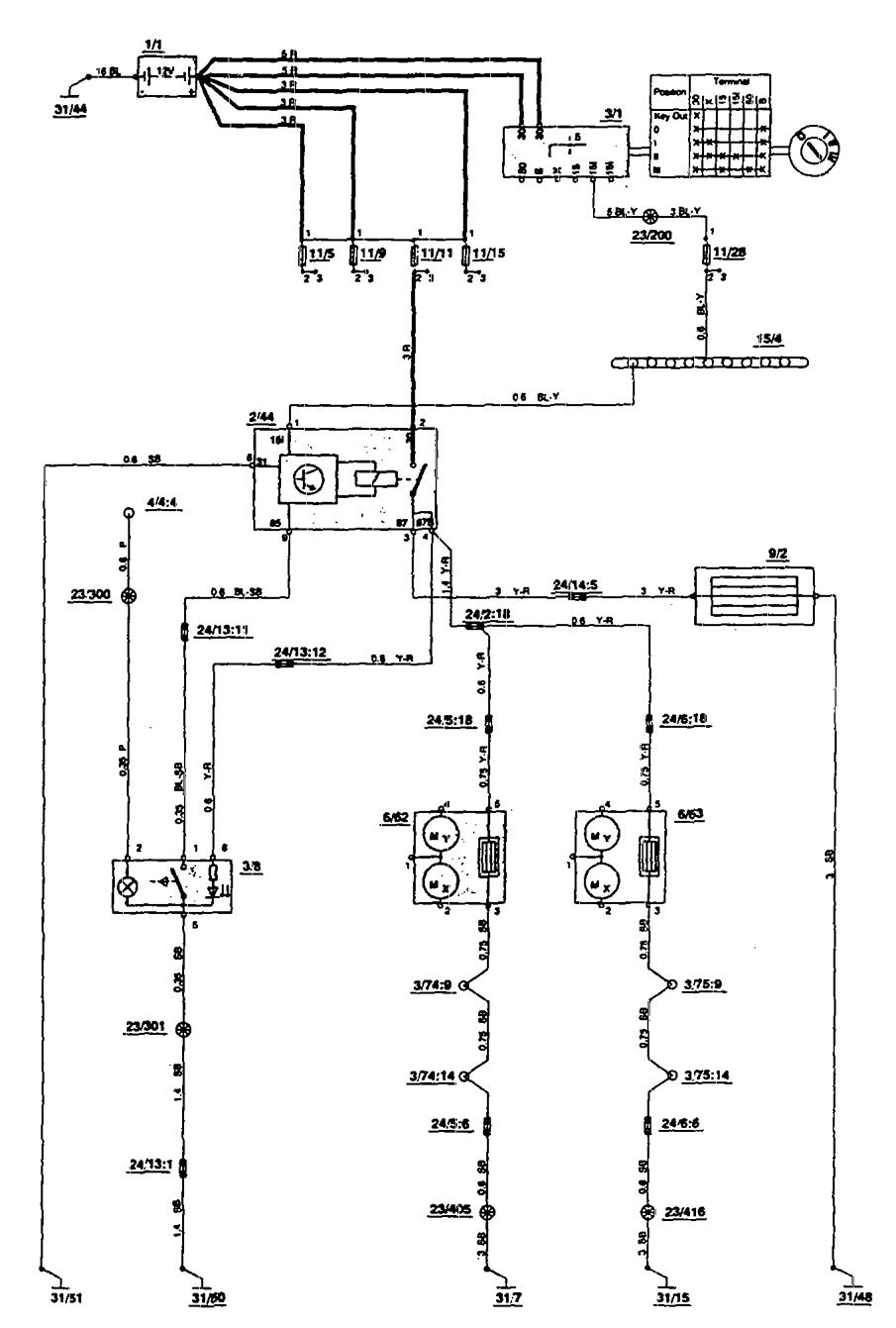 Heated Mirror Wiring Diagram Trusted Diagrams 09 Silverado Volvo 850 1993 Carknowledge 55 Chevy Ignition