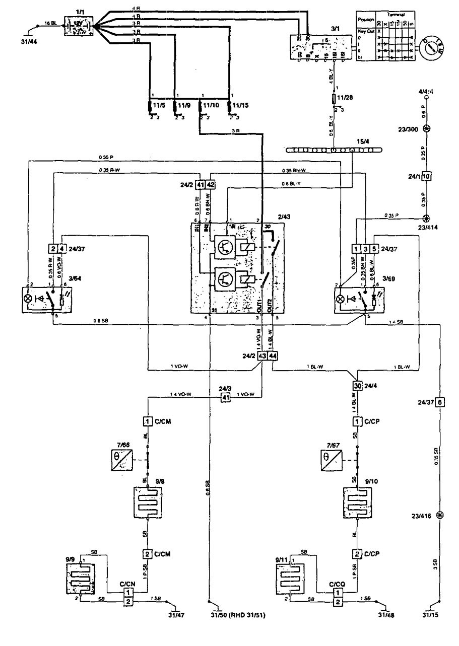 volvo 850 1995 wiring diagrams heated seats 1999 acura cl wiring diagram 98 acura cl wiring diagram #5