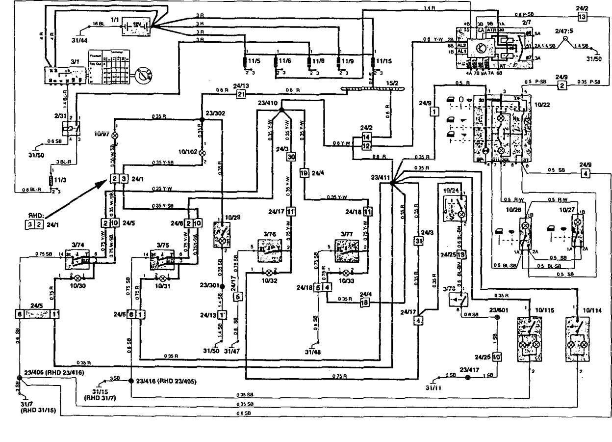 Volvo 850 Wiring Diagram from www.carknowledge.info