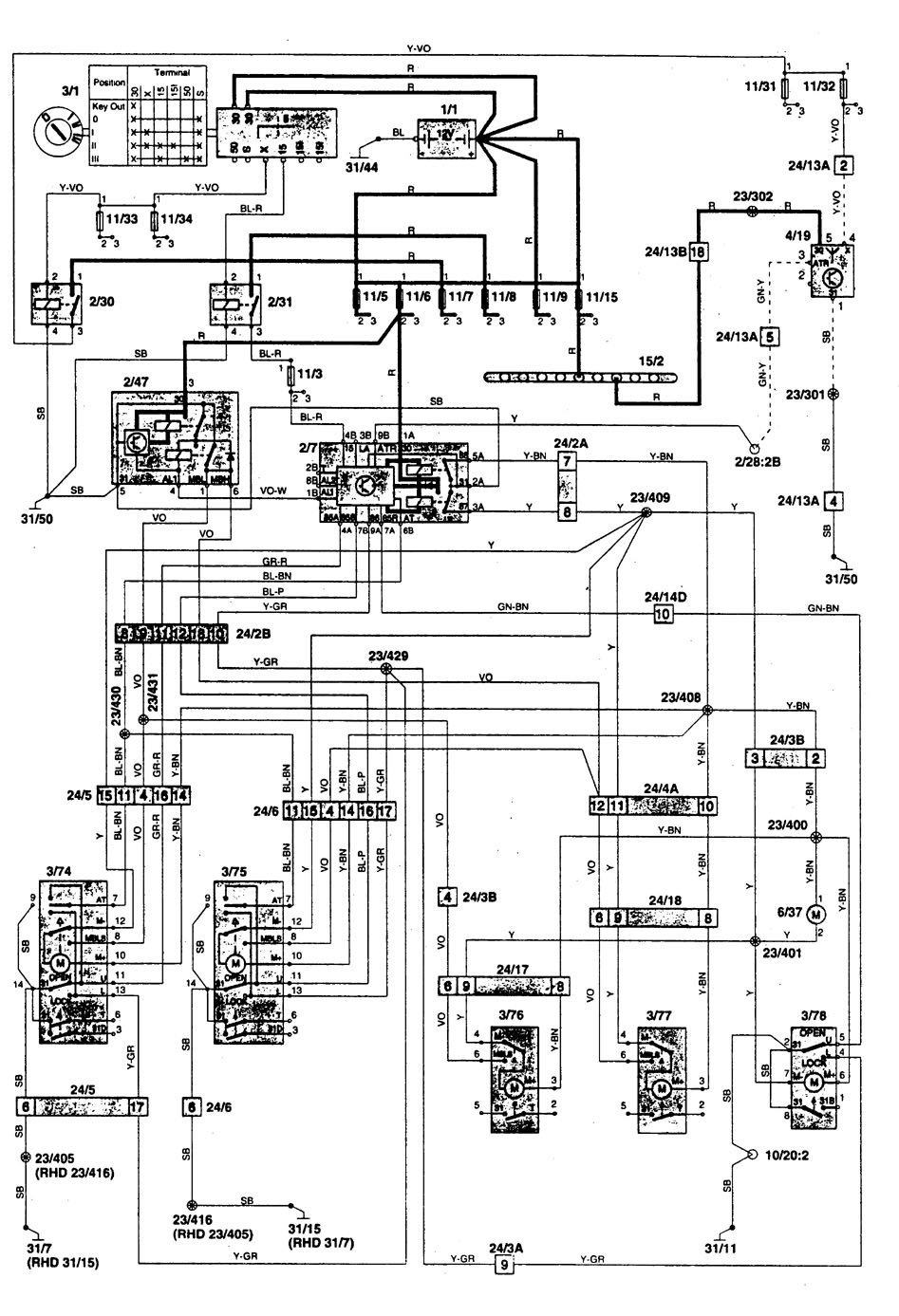 wrg 1635] 850 yanmar wiring diagramvolvo 850 wiring diagram detailed schematics diagram yanmar tractor manuals electrical wiring diagram for 1996 volvo