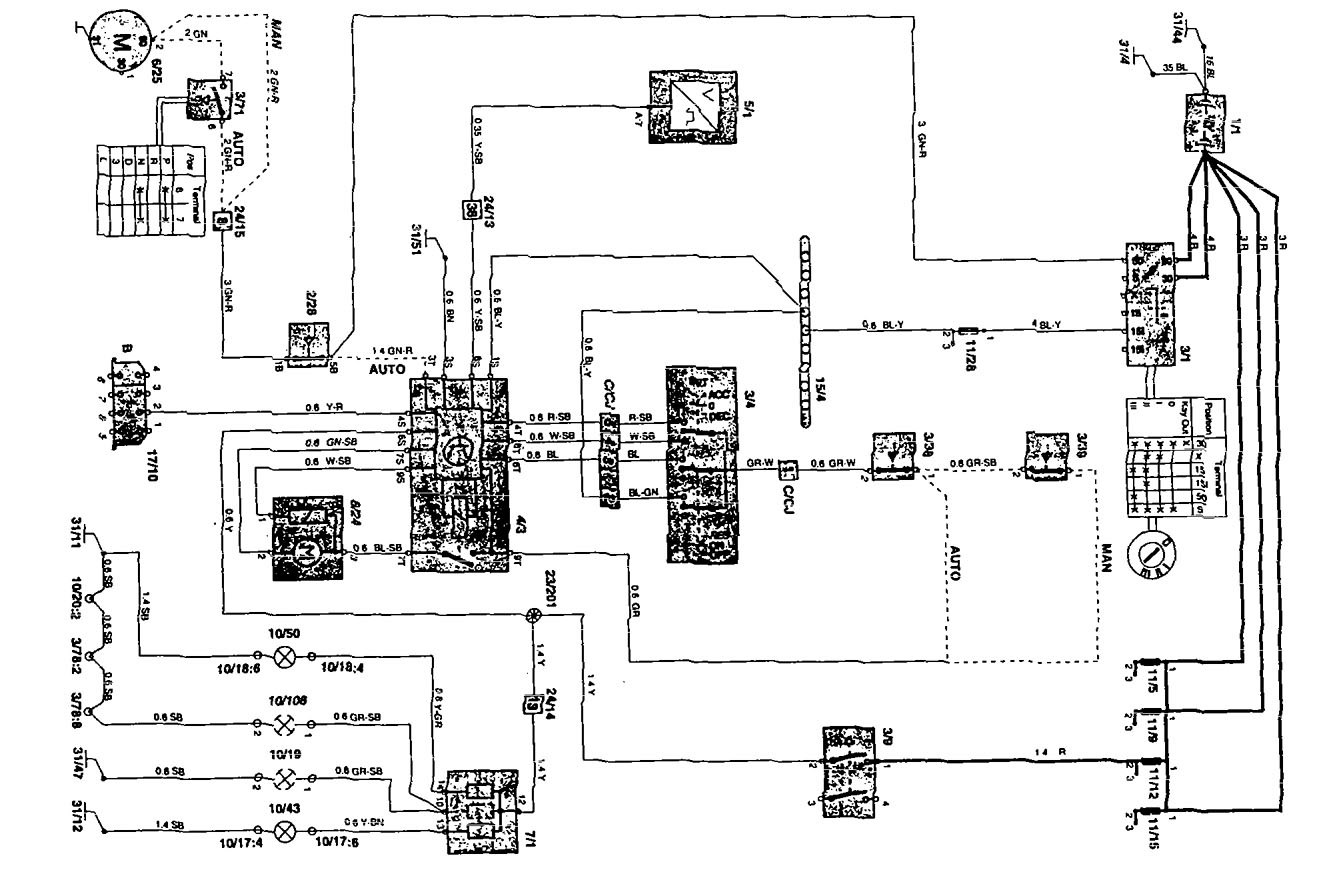 Volvo 850 Car Stereo Wiring Diagram : Volvo wiring diagram download