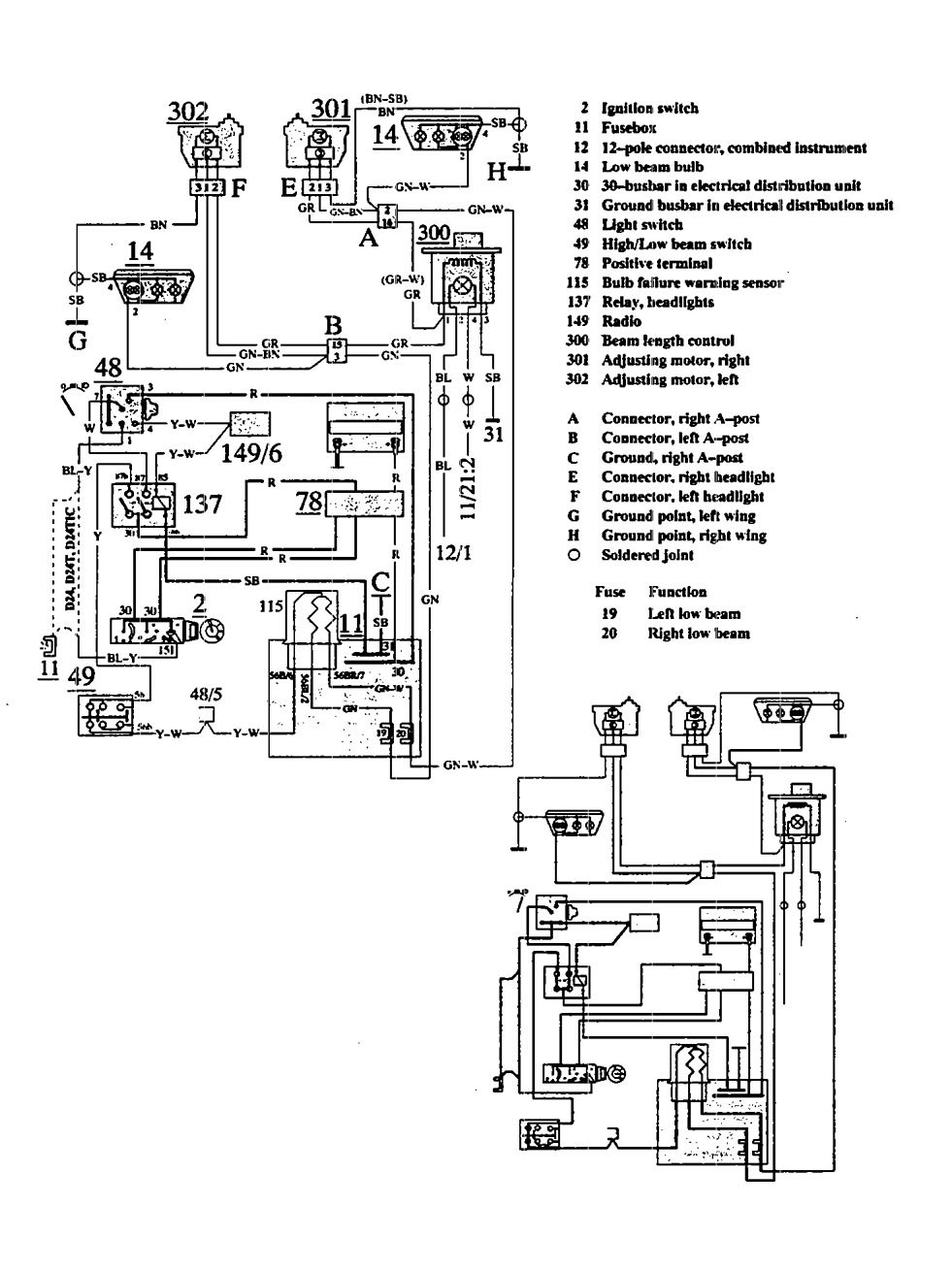 Volvo 940 Wiring Diagram from www.carknowledge.info