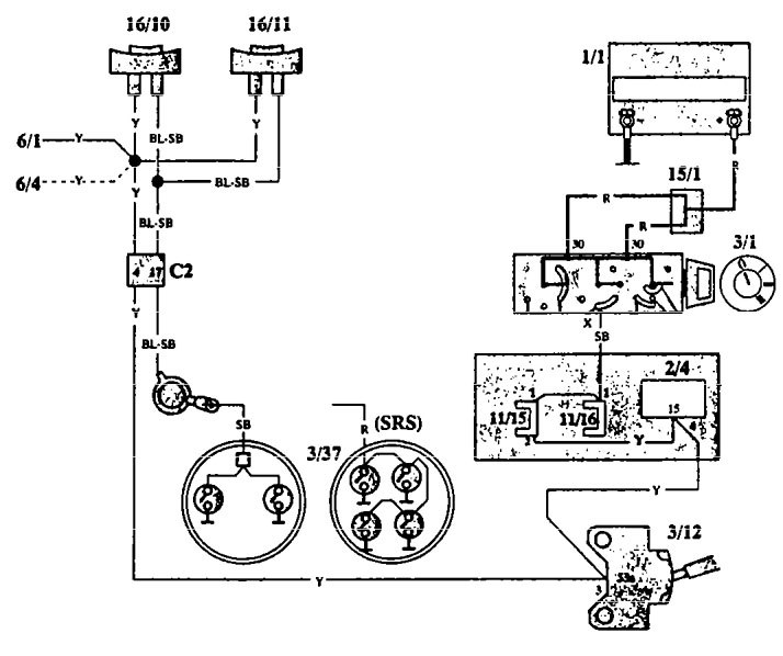 Volvo 940 1993 Wiring Diagrams Horn: Volvo V90 Fuse Box Diagram At Ariaseda.org