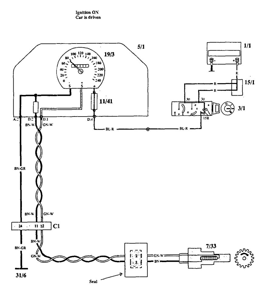Wiring Diagram For 1994 Volvo 940 : Volvo  wiring diagrams trip computer
