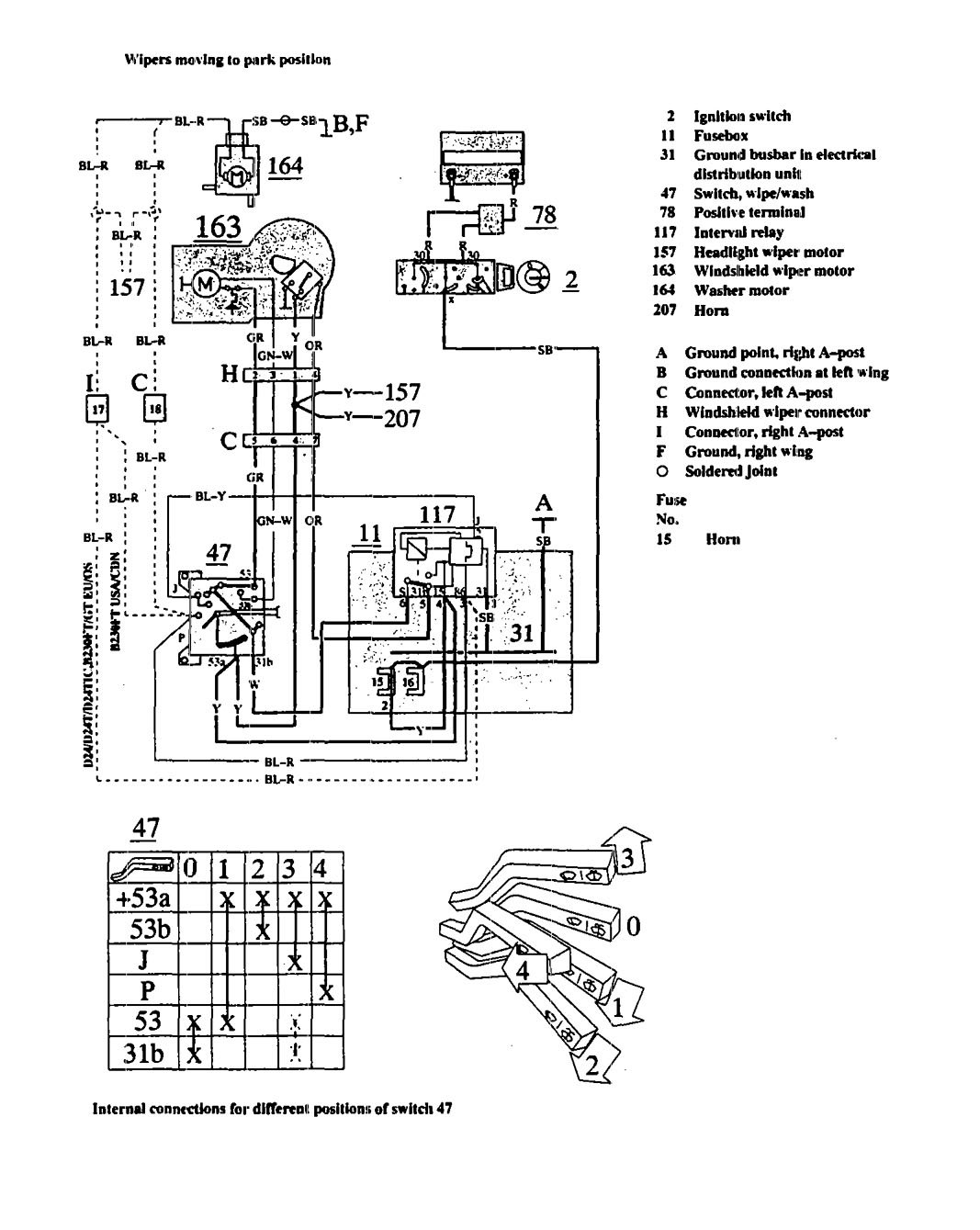Volvo 940 Wiring Diagram 1991 - wiring diagrams schematics