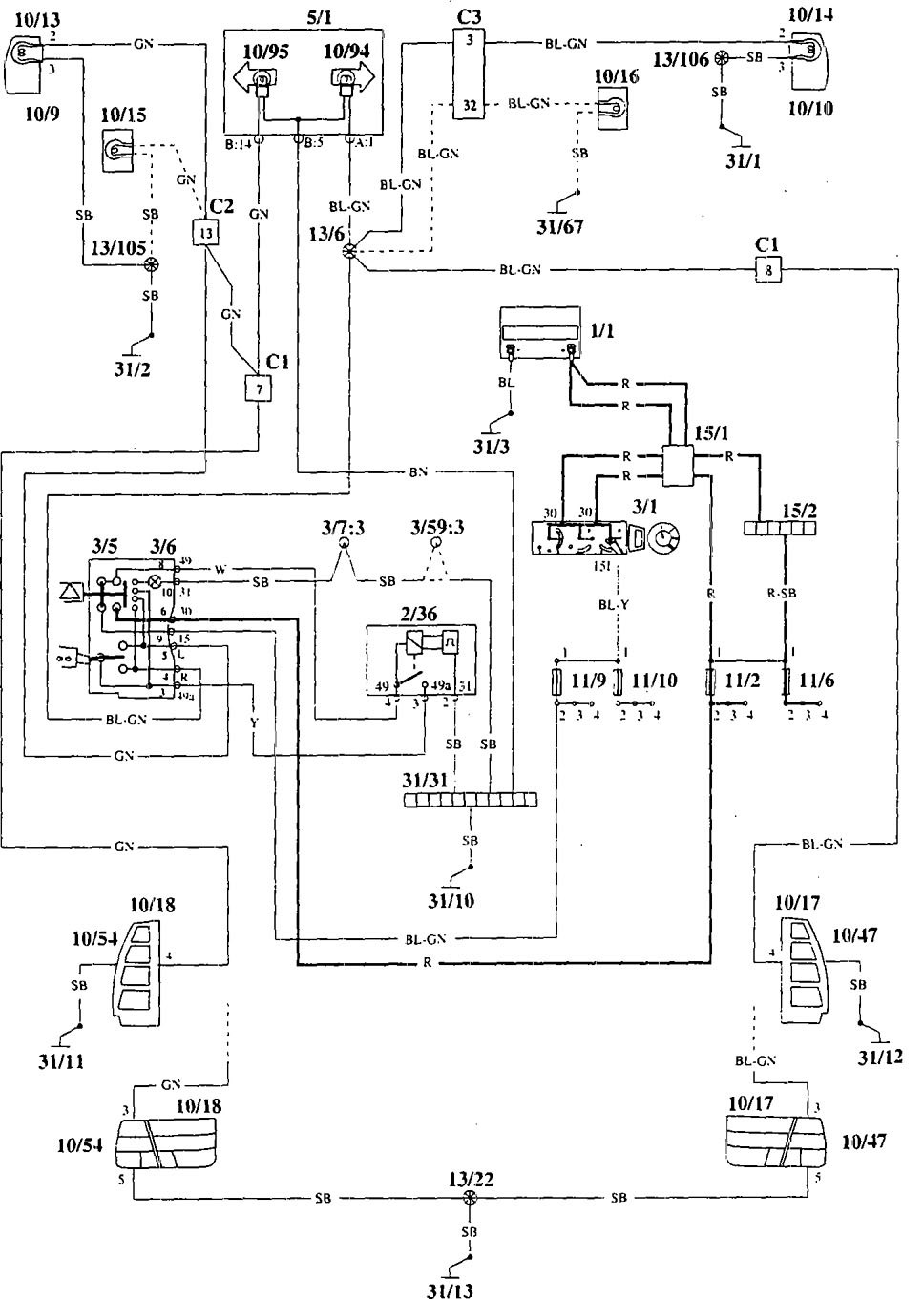 ford crown victoria fuse box diagram wiring part diagrams