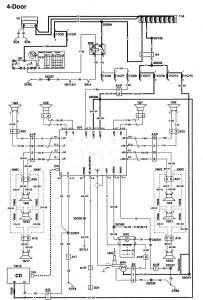 volvo fh12 wiring diagram pdf volvo 960 (1997) - wiring diagrams - audio - carknowledge 1997 volvo 960 wiring diagram
