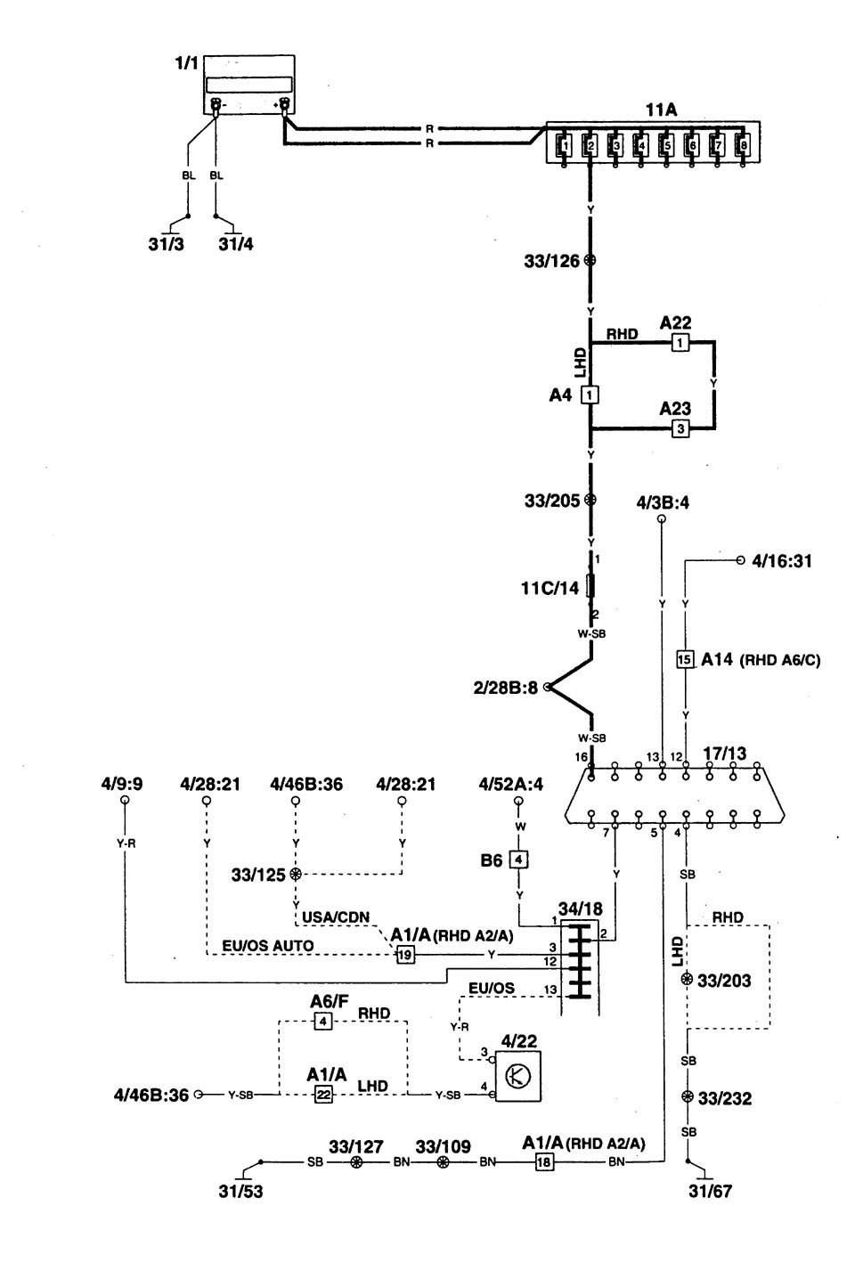 household wiring diagrams computer wiring diagram computer volvo 960 1997 wiring diagrams computer data lines
