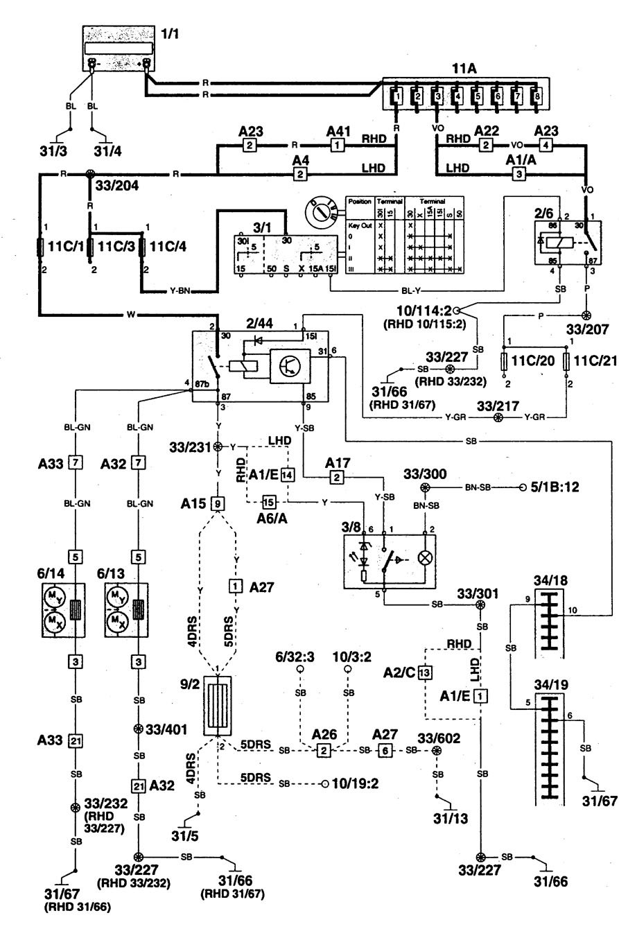 Volvo 740 Cooling Fan Relay Wiring Diagram Diagrams Ac Jeep Cherokee Basic 240 Locations