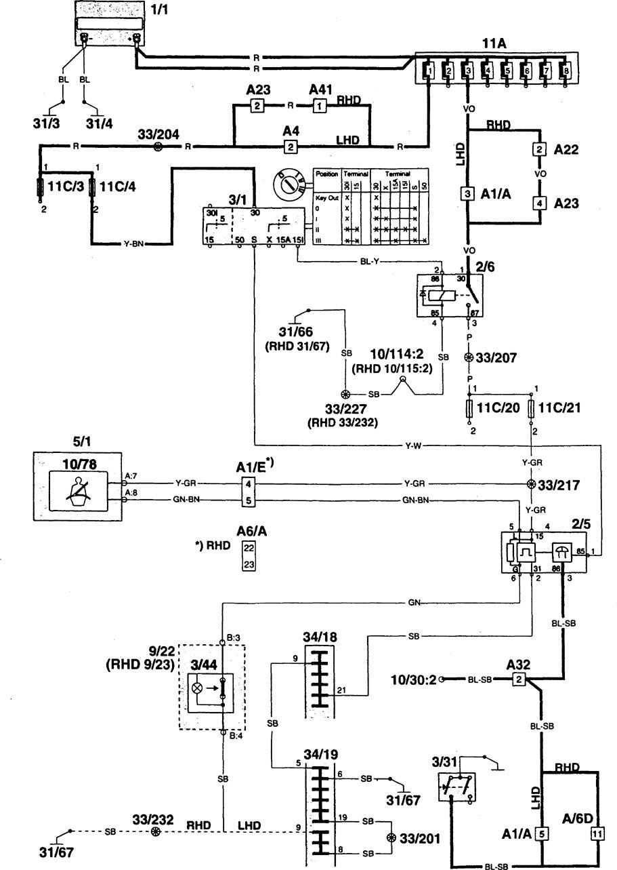 Volvo Wiring Diagram Key Warning on 1997 Acura Integra Axle Diagram