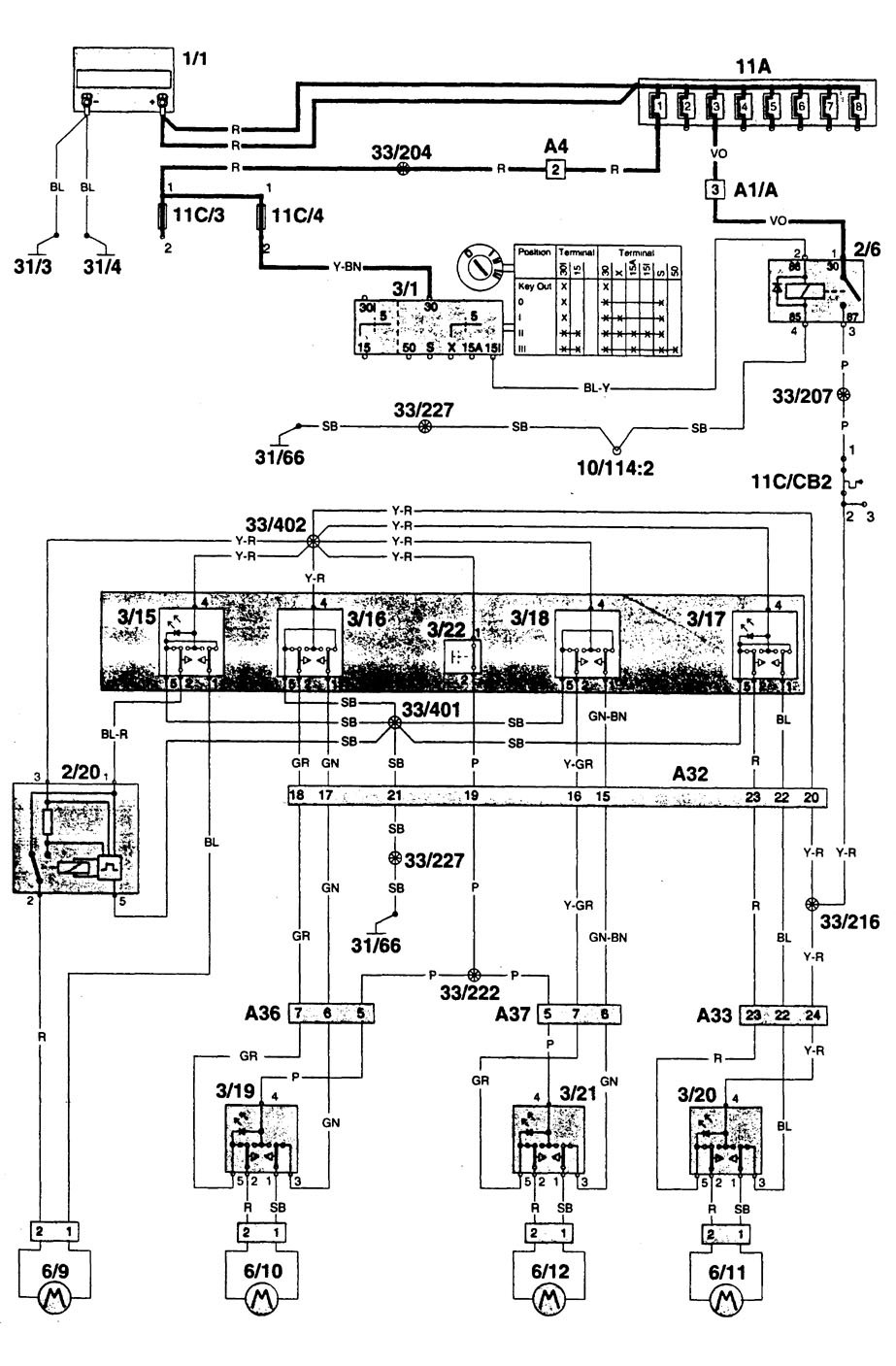 1996 monaco wiring diagram schematic volvo 960  1996  wiring diagrams power windows carknowledge info  volvo 960  1996  wiring diagrams