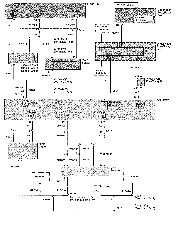 Acura Tl 2008 Wiring Diagrams Fuel Control Carknowledge Diagram Part 4