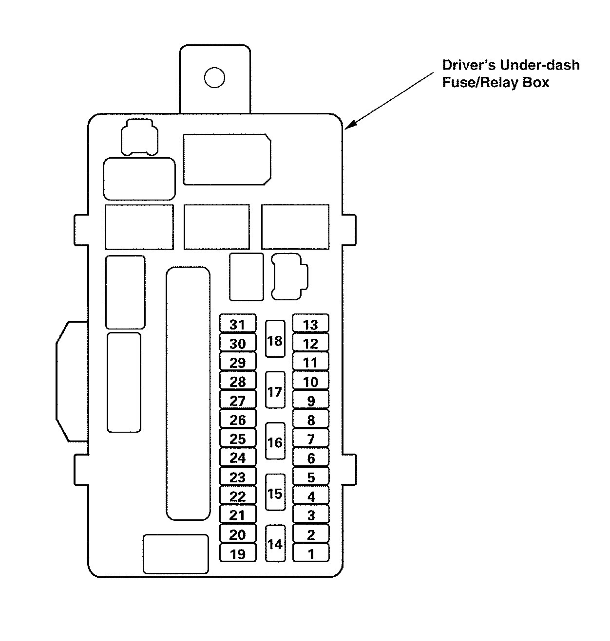 Acura Tl 2009 Fuse Box Explained Wiring Diagrams 1999 Panel Carknowledge On