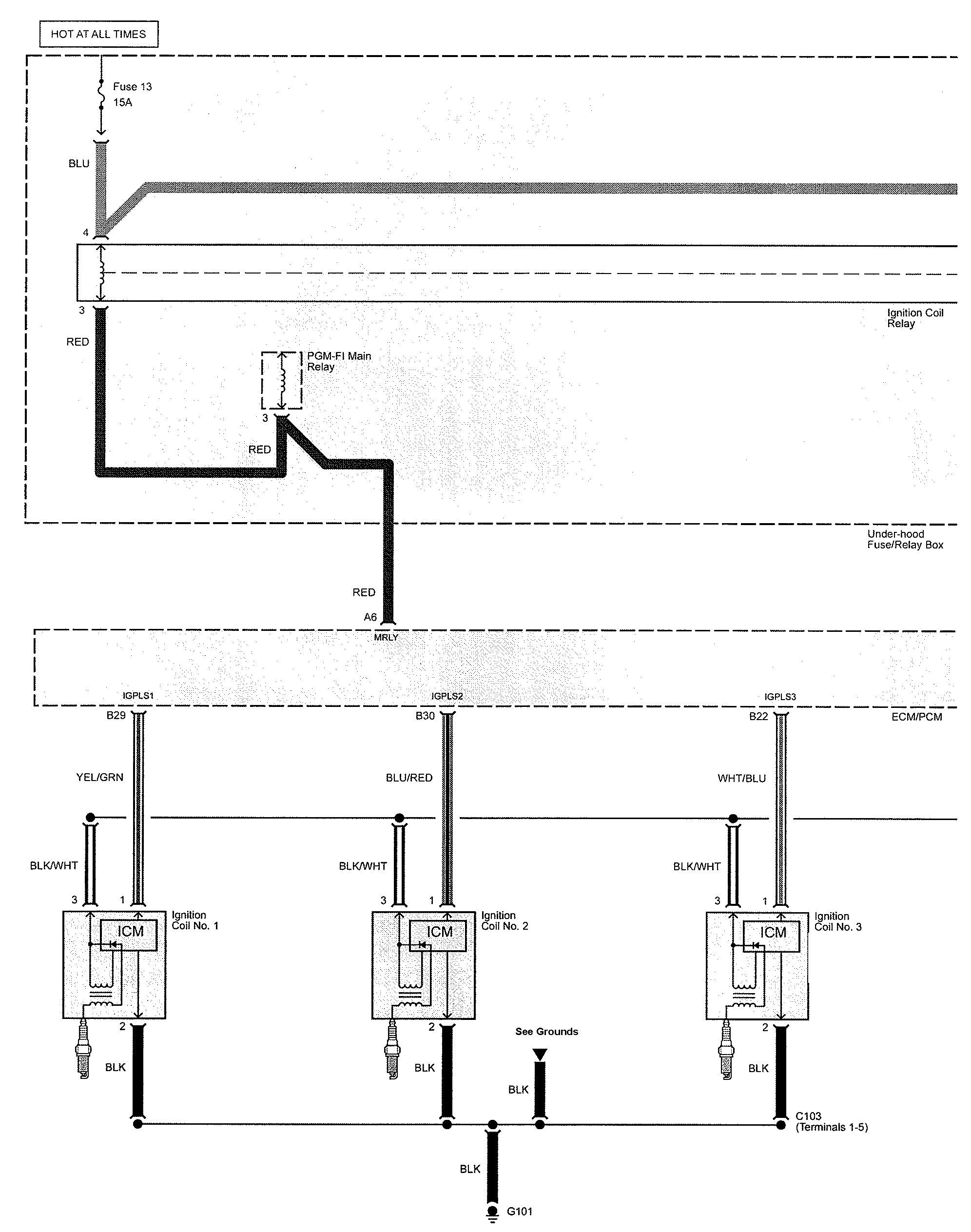Acura Tl  2009  - Wiring Diagrams