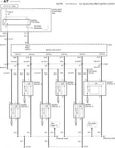 acura tl 2007 2008 wiring diagrams ignition. Black Bedroom Furniture Sets. Home Design Ideas