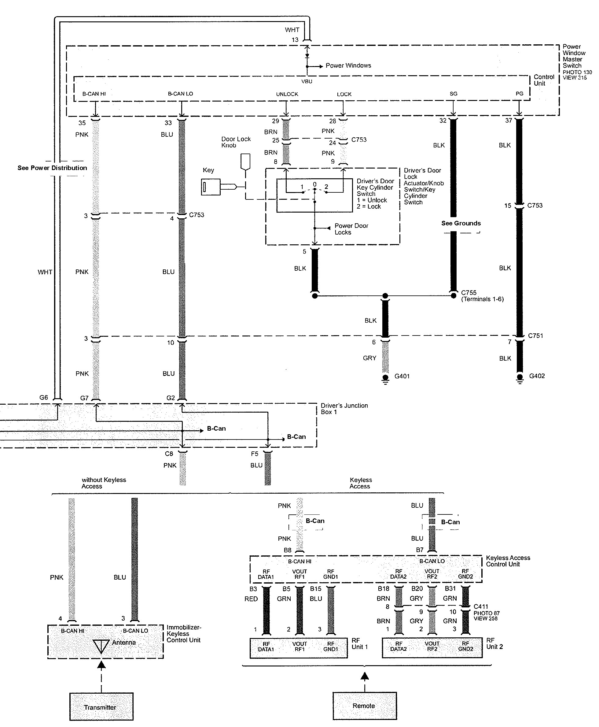 Acura Tl 2009 2010 Wiring Diagrams Illuminated Entry Diagram Part 5