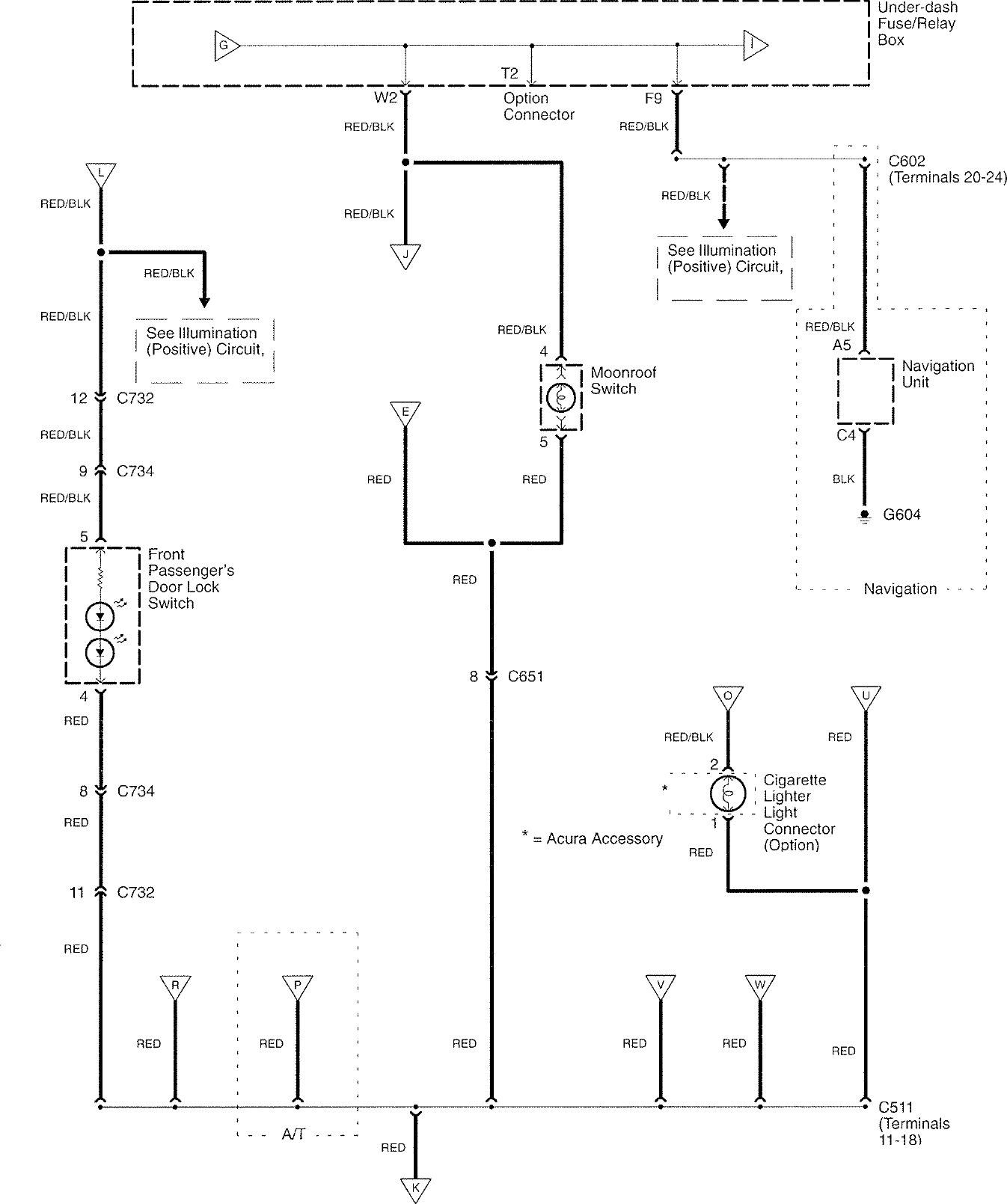 Acura Tl 2007 Wiring Diagrams Interior Lighting Carknowledge 2008 Civic Diagram Part 6