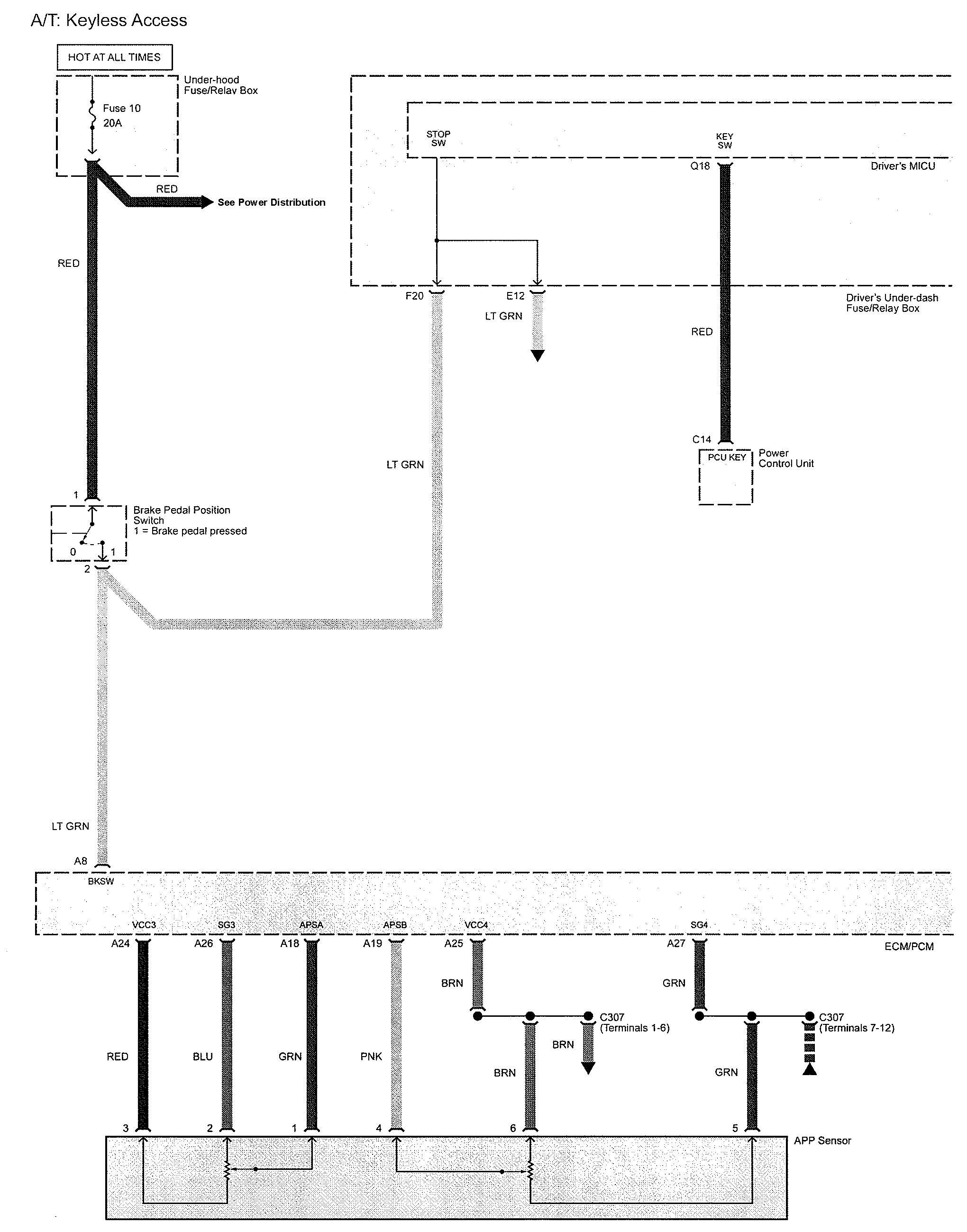 acura tl 2009 – wiring diagrams – key interlock – carknowledge