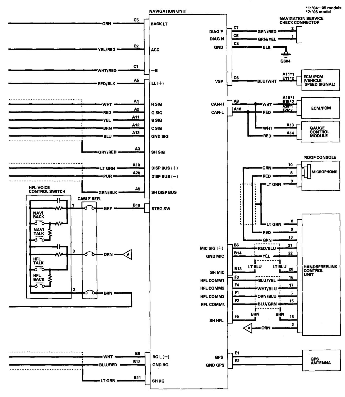 Acura Tl Wiring Diagram Navigation System on 2002 Acura Rsx Parts Diagrams