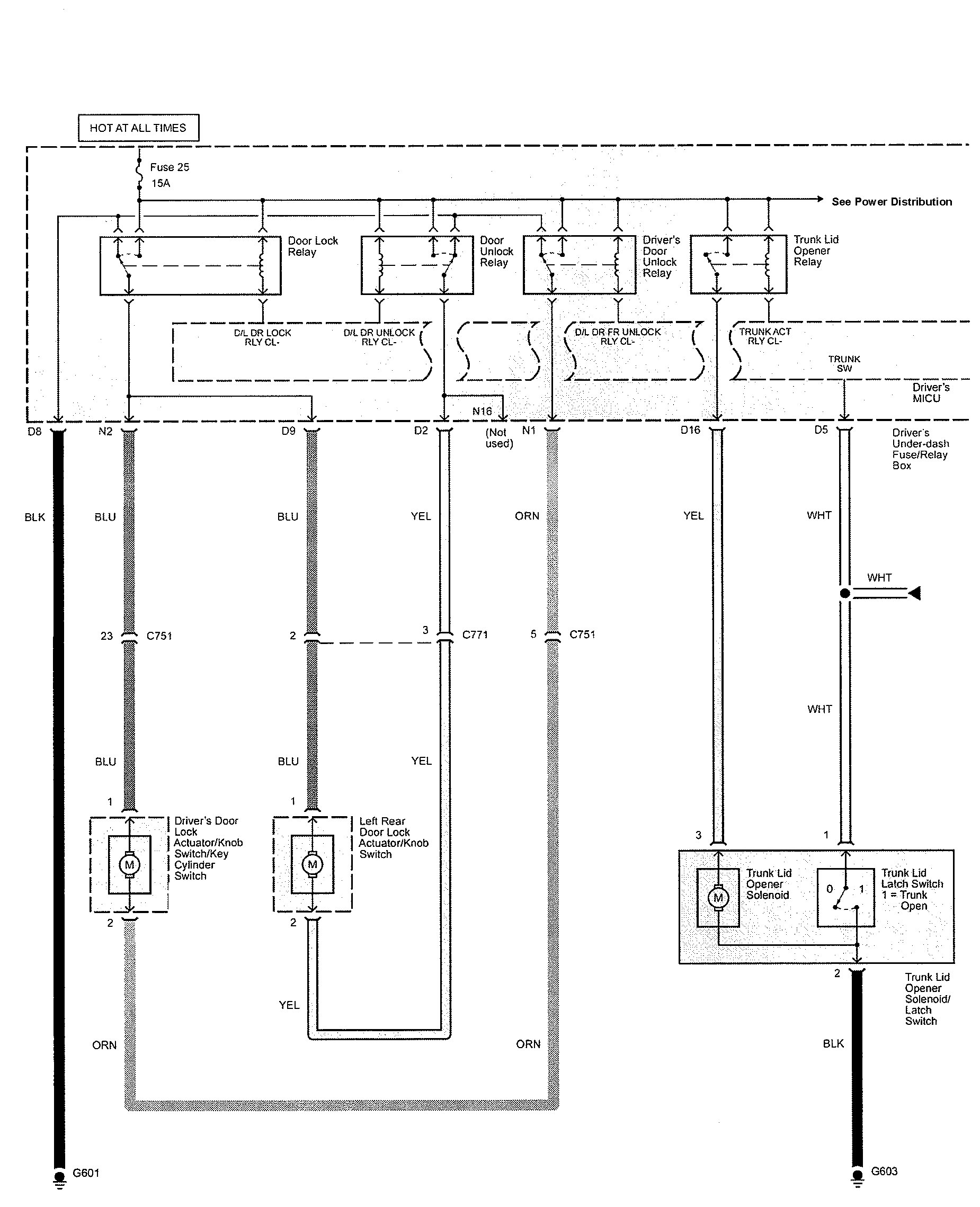Acura Tl  2009 - 2010  - Wiring Diagrams