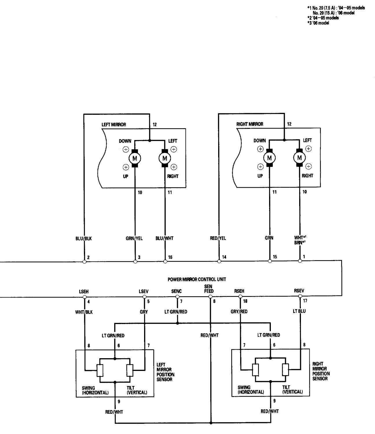 power mirror wiring diagram f250 power mirror wiring