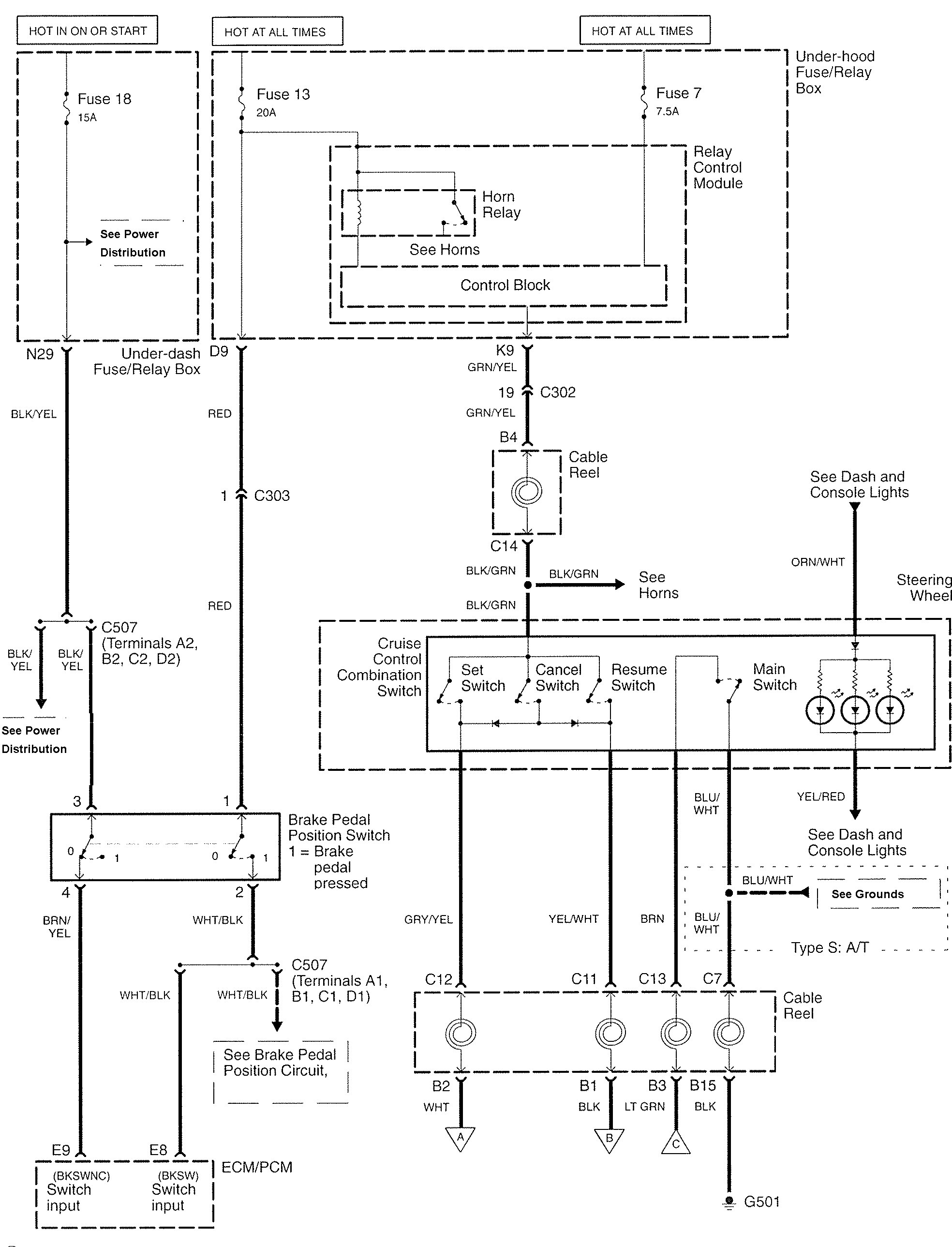 Acura Tl Wiring Diagrams Circuit And Diagram Hub Of Car Ac Example Electrical 2007 2008 Speed Control 2005
