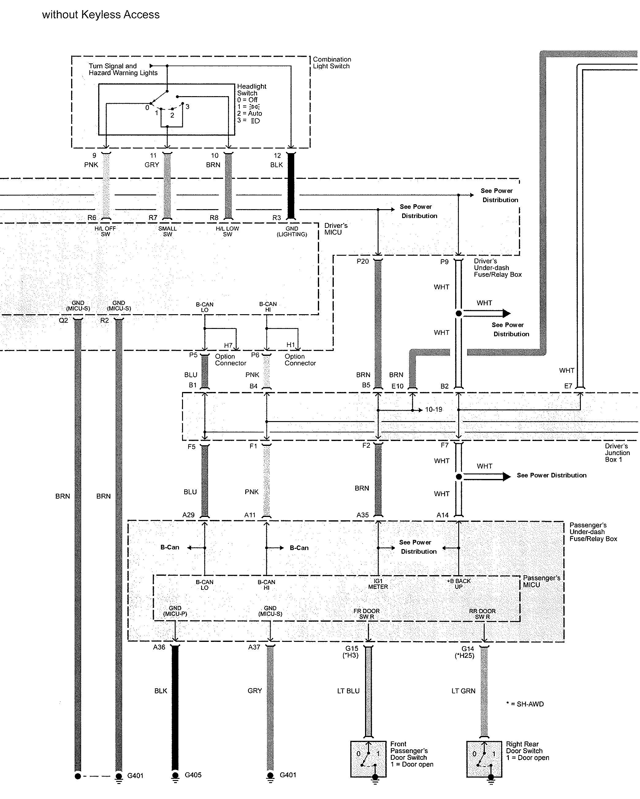 acura tl wiring diagram warning indectors 2 2009 acura tl (2009) wiring diagrams warning indicators carknowledge a35 wiring diagram at sewacar.co