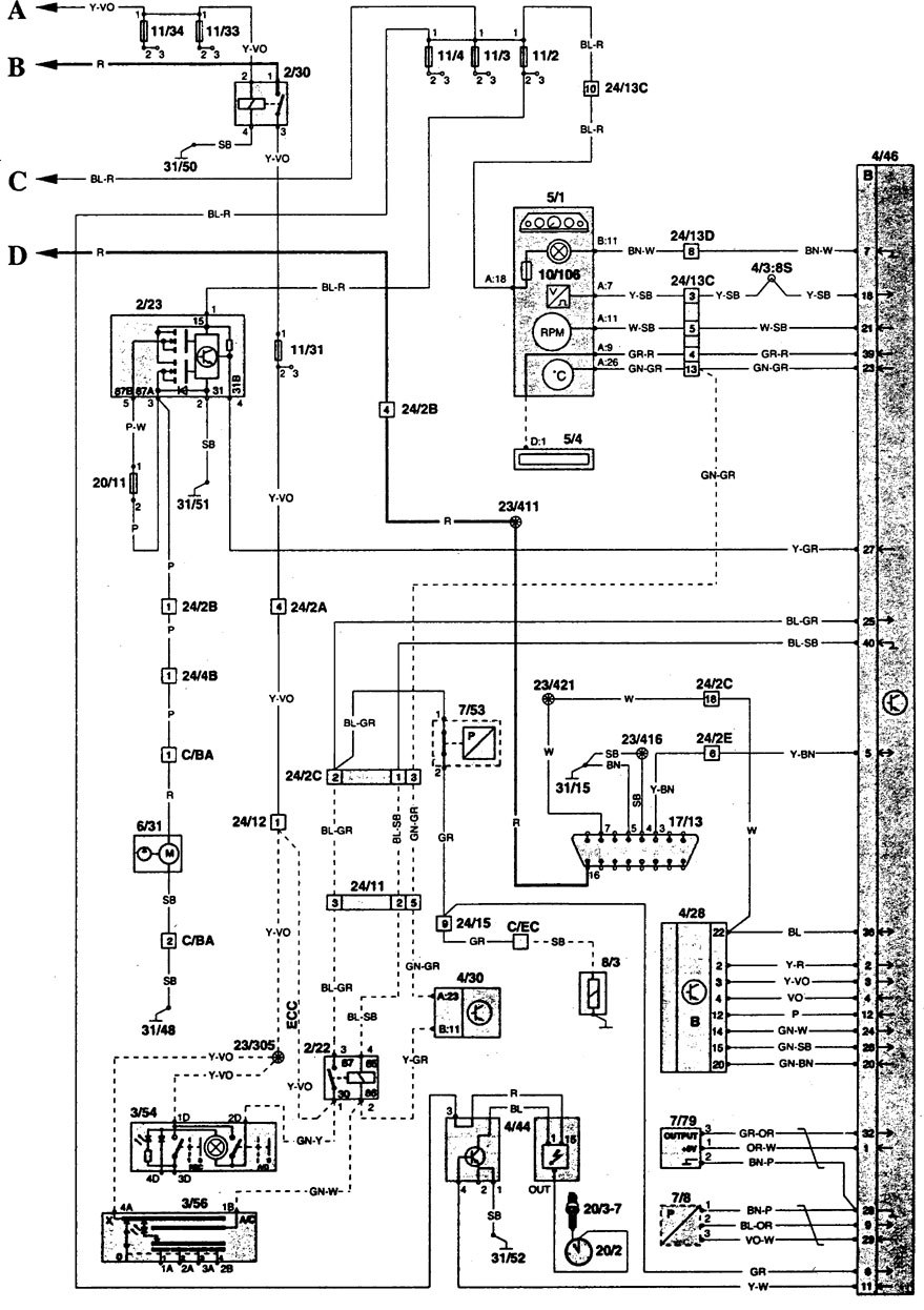 Electrical Wiring Diagram For 1996 Volvo 850 Start Building A Fuse 1985 Turbo Box Another Blog About U2022 Rh Ok2 Infoservice Ru Truck Engine