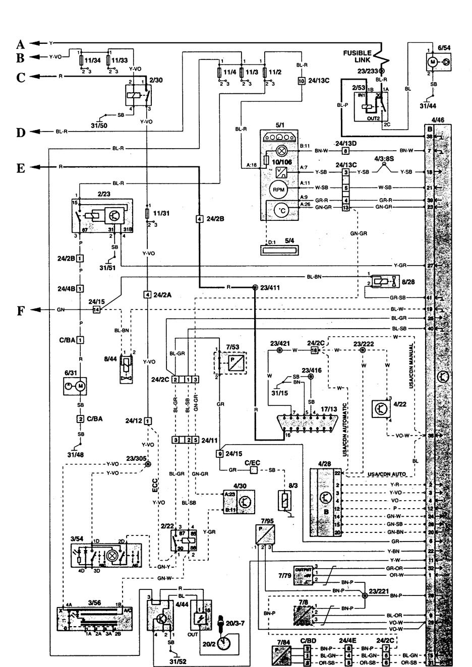 Famous Volvo 850 Wiring Diagram Adornment Electrical and Wiring