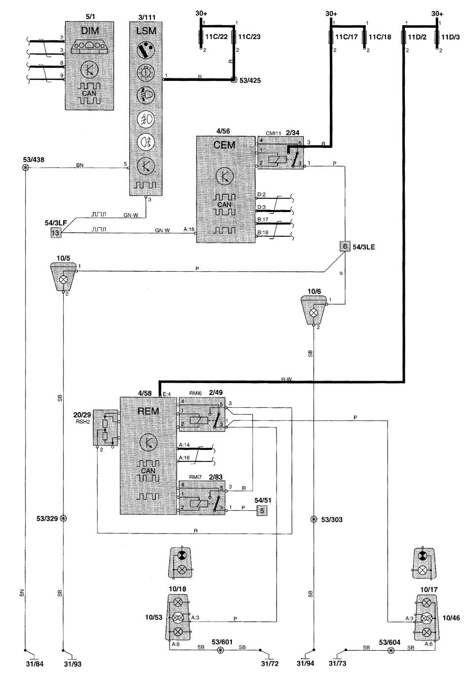 2001 Volvo S80 Fan Wiring Diagram Library 2000 S70 V70 2002 Fog Lamp Diy Enthusiasts S60 Fuse