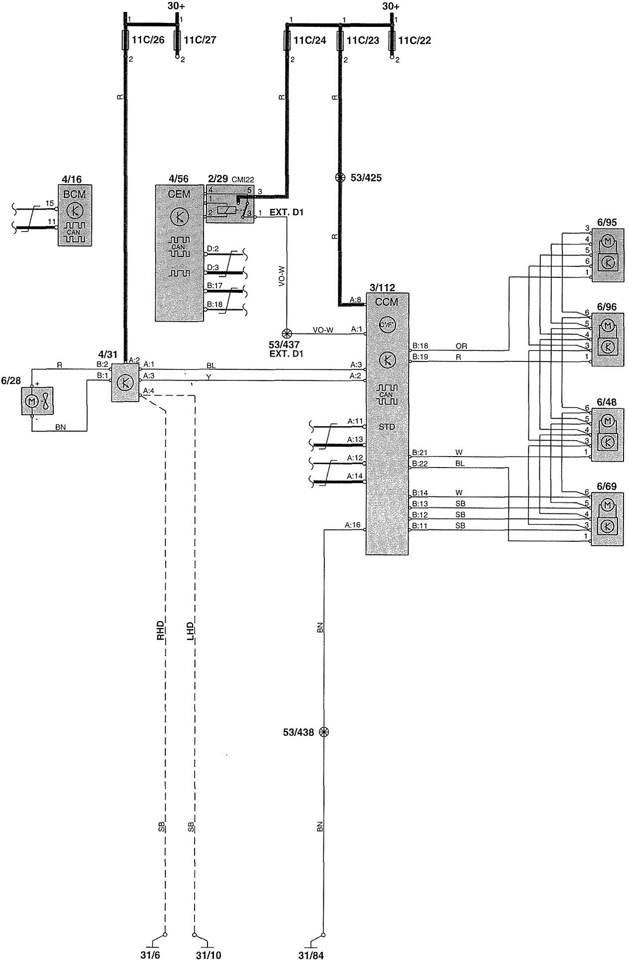 Volvo v wiring diagrams heater carknowledge