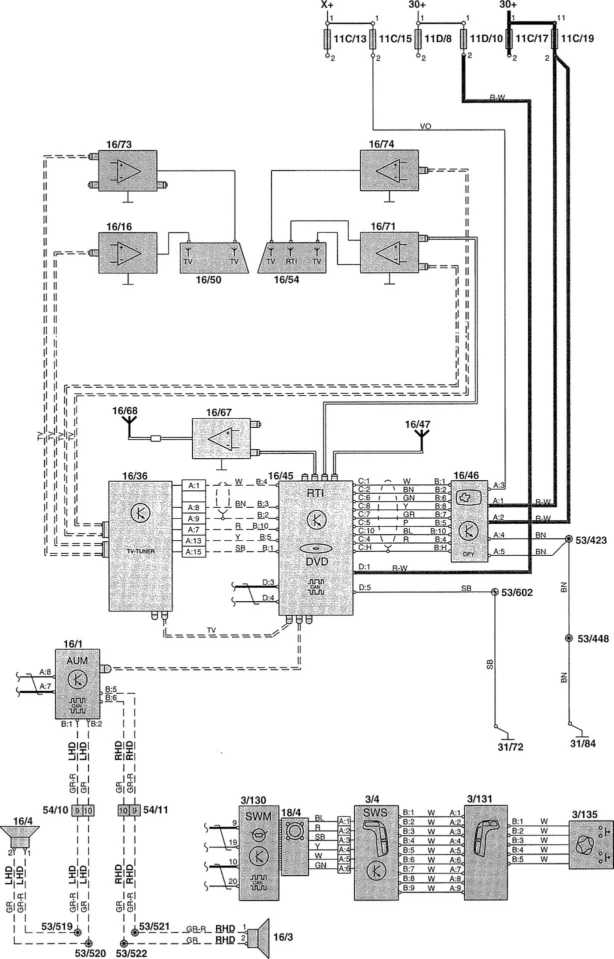 2004 Volvo V70 Wiring Diagram Another Blog About 1998 Ignition Switch Diagrams