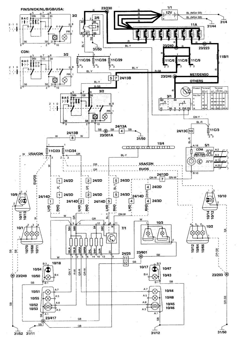 1998 Volvo V70 Wiring Diagram Wiring Diagram Stare Component A Stare Component A Consorziofiuggiturismo It
