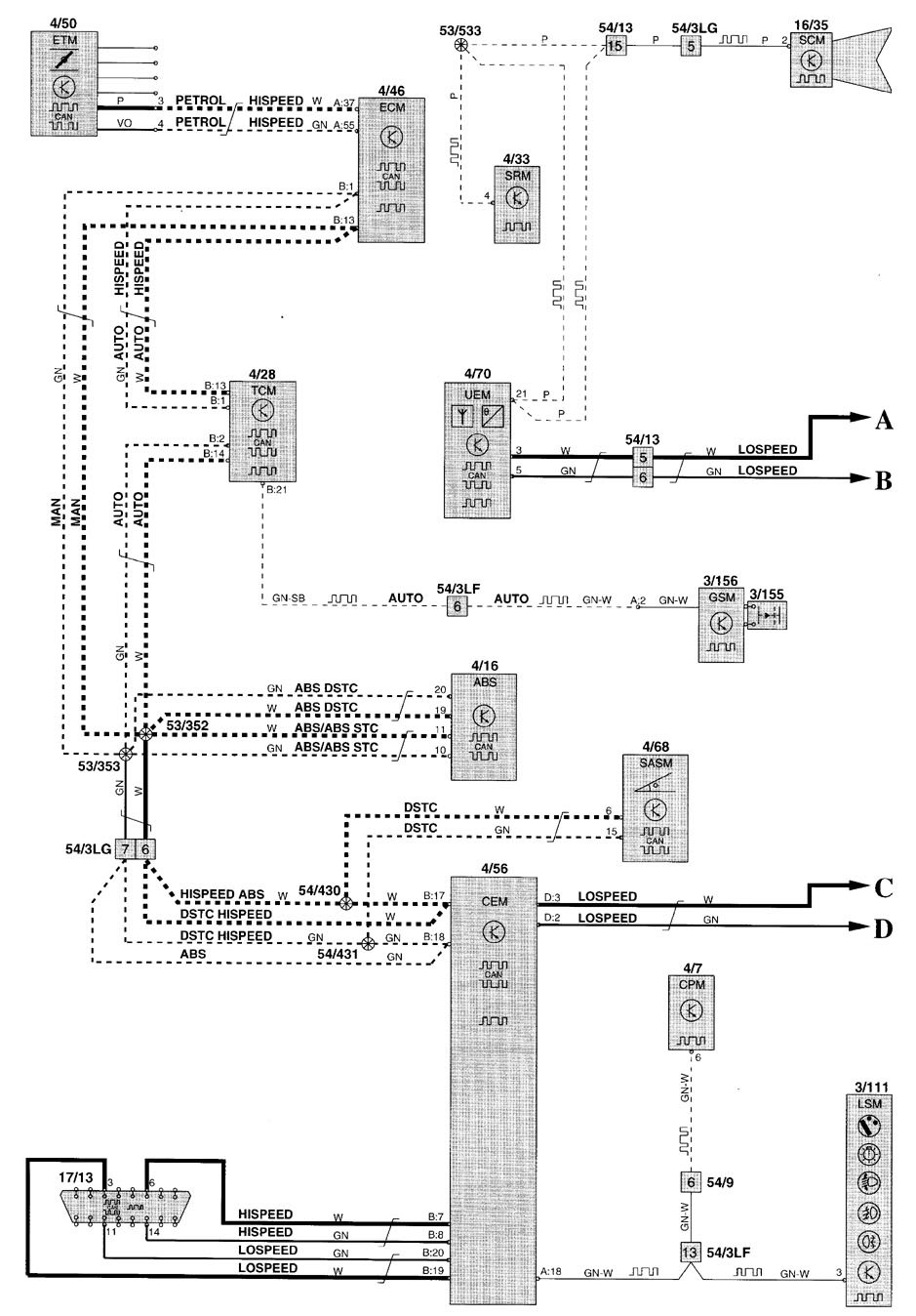 2000 Volvo V70 Vacuum Diagram Trusted Wiring S40 Engine 2001 Electrical Residential S70 Hose